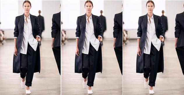 Splitter von der New York Fashion Week: die The Row SS20 Kollektion